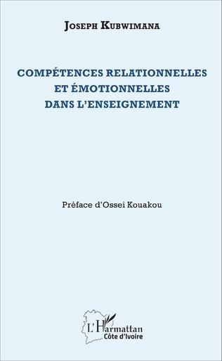Couverture Compétences relationnelles et émotionnelles dans l'enseignement