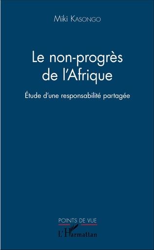 Couverture Le non-progrès de l'Afrique