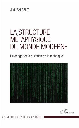 Couverture La structure métaphysique du monde moderne