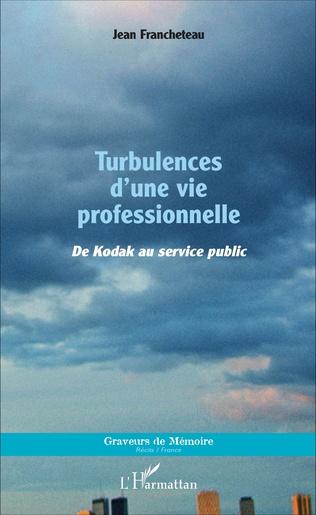 Couverture Turbulences d'une vie professionnelle