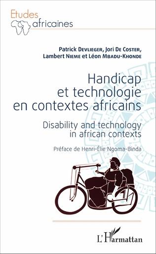 Couverture Handicap et technologie en contextes africains