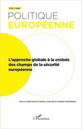 Couverture L'approche globale à la croisée des champs de la sécurité européenne