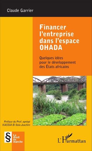 Couverture Financer l'entreprise dans l'espace OHADA
