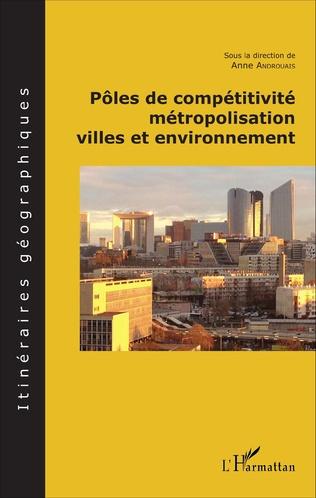 Couverture Pôles de compétitivité métropolisation,