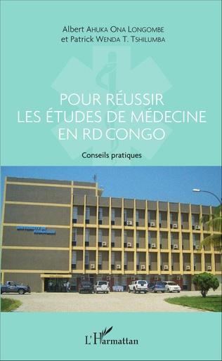 Couverture Pour réussir les études de médecine en RD Congo