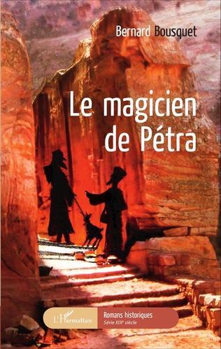 Couverture Le magicien de Pétra