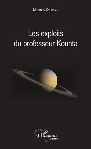 Couverture Les exploits du professeur Kounta
