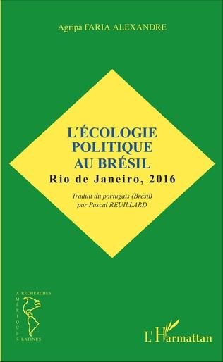 Couverture L'écologie politique au Brésil