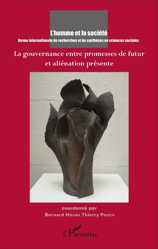 Couverture La gouvernance entre promesses de futur et aliénation présente