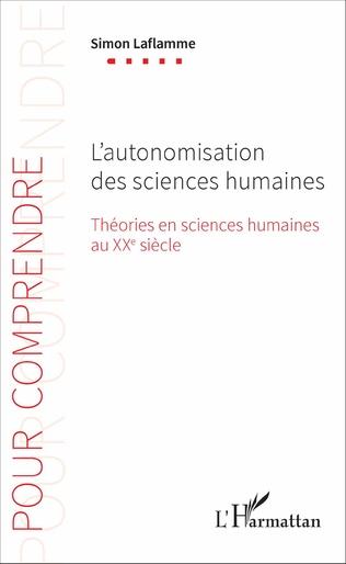 Couverture L'autonomisation des sciences humaines