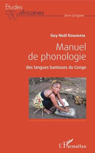 Couverture Manuel de phonologie