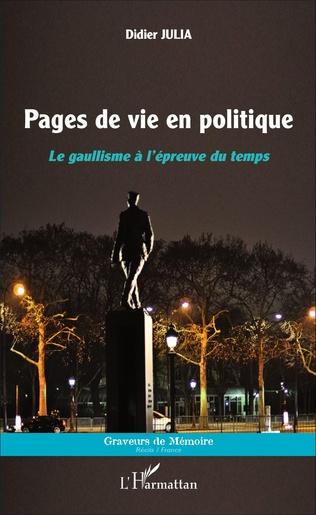 Couverture Pages de vie en politique