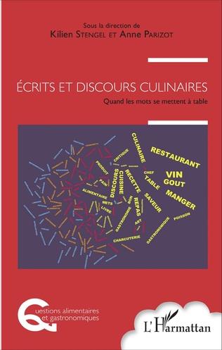 Couverture Écrits et discours culinaires