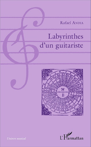 Couverture Labyrinthes d'un guitariste