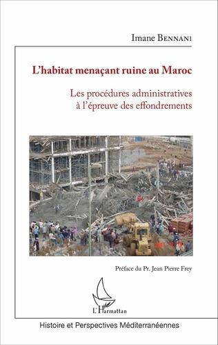 Couverture L'habitat menaçant ruine au Maroc(HMR)