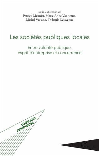 Couverture Les sociétés publiques locales