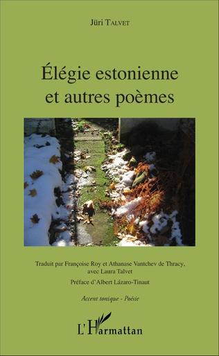 Couverture Élégie estonnienne et autres poèmes