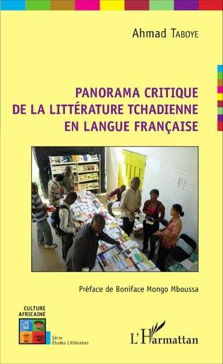 Couverture Panorama critique de la littérature tchadienne en langue française