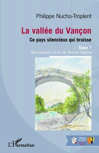 Couverture La vallée du Vançon