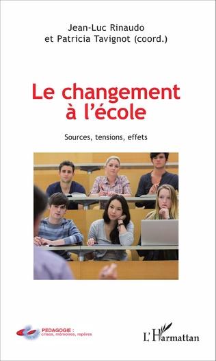 Couverture Le changement à l'école
