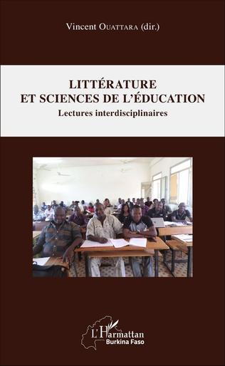 Couverture Littérature et sciences de l'éducation