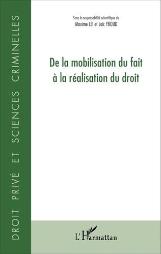 Couverture De la mobilisation du fait à la réalisation du droit