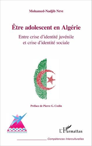 Couverture Être adolescent en Algérie