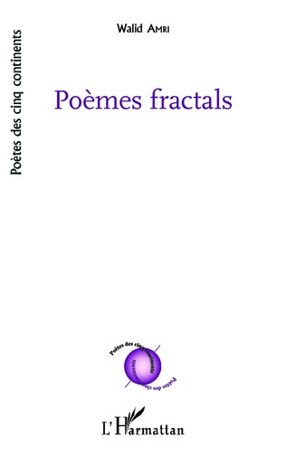 Couverture Poèmes fractals