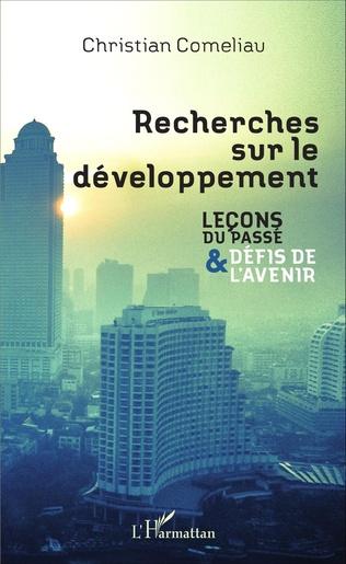 Couverture Recherches sur le développement