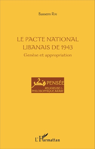 Couverture Le Pacte national libanais de 1943