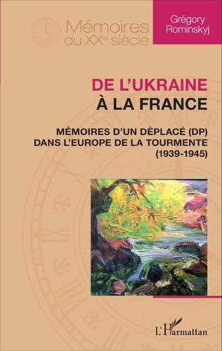 Couverture De l'Ukraine à la France