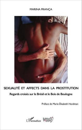 Couverture Sexualité et affects dans la prostitution