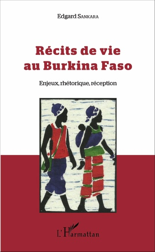 Couverture Récits de vie au Burkina Faso