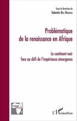 Couverture Problématique de la renaissance en Afrique