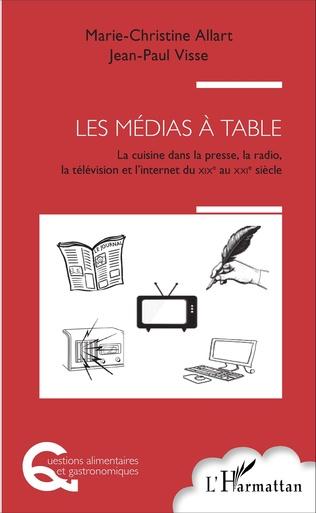 Couverture Les médias à table