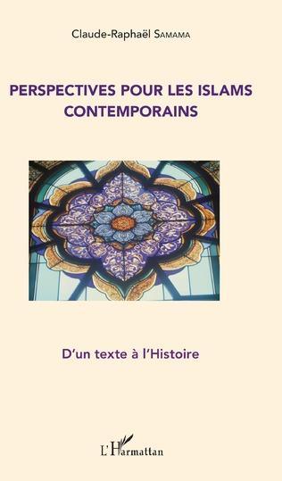 Couverture Perspectives pour les Islams contemporains