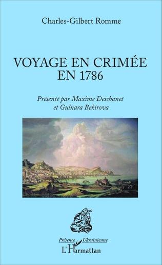 Couverture Voyage en Crimée en 1786