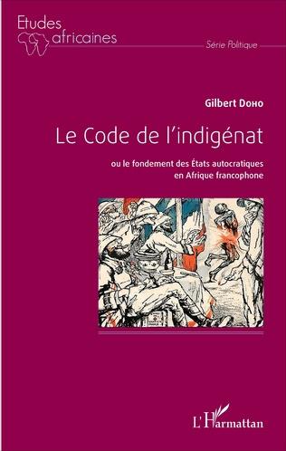 Couverture Le Code de l'indigénat
