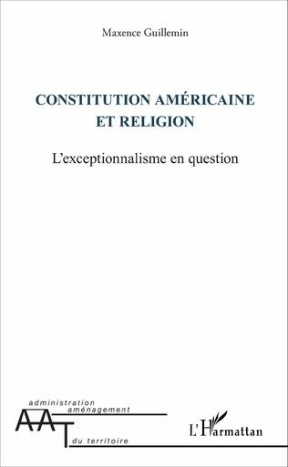 Couverture Constitution américaine et religion