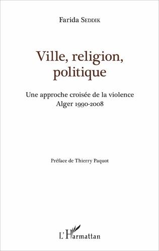 Couverture Ville, religion, politique