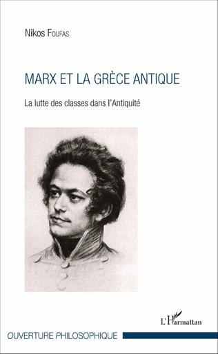 Couverture Marx et la Grèce antique