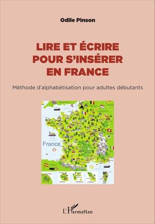 Couverture Lire et écrire pour s'insérer en France