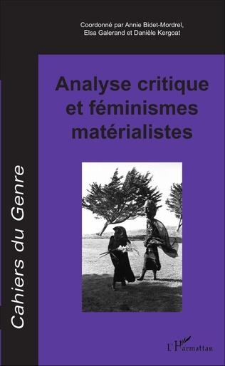 Couverture Analyse critique et féminismes matérialistes