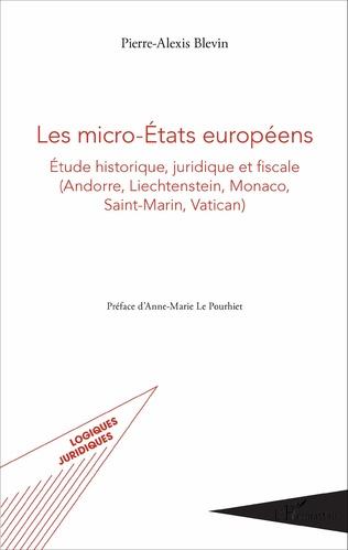 Couverture Les micro-États européens