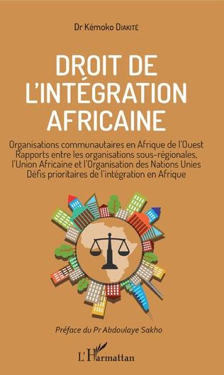 Couverture Droit de l'intégration africaine