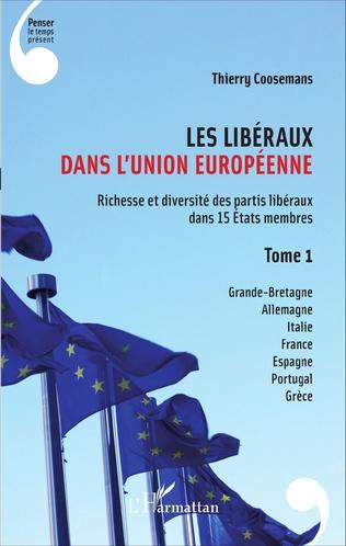 Couverture Les Libéraux dans l'Union Européenne