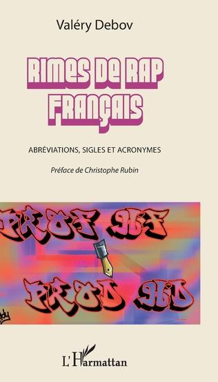 Couverture Rimes de rap français