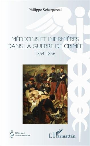 Couverture Médecins et infirmières dans la guerre de Crimée