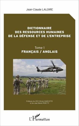 Couverture Dictionnaire des ressources humaines de la défense et de l'entreprise