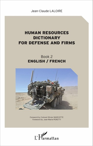 Couverture Human resources dictionary for defense and firms